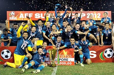 Singapore vô địch AFF Cup năm 2004