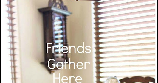 Friends Gather Here Thanksgiving Linky Party