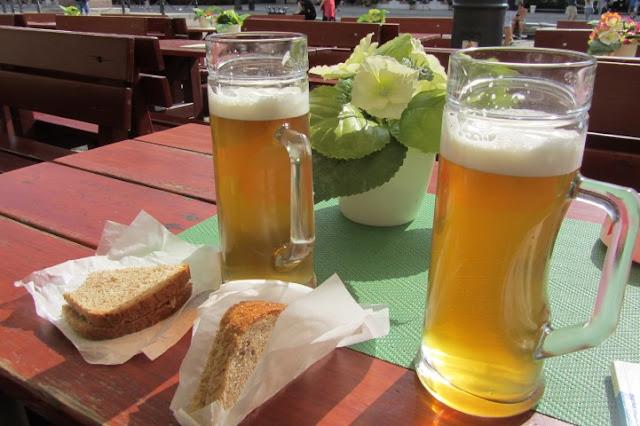 Bier van Stadsbrouwerij Spiz op Markt  in Wroclow