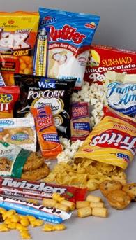 QSN: snaks que deterioran la salud