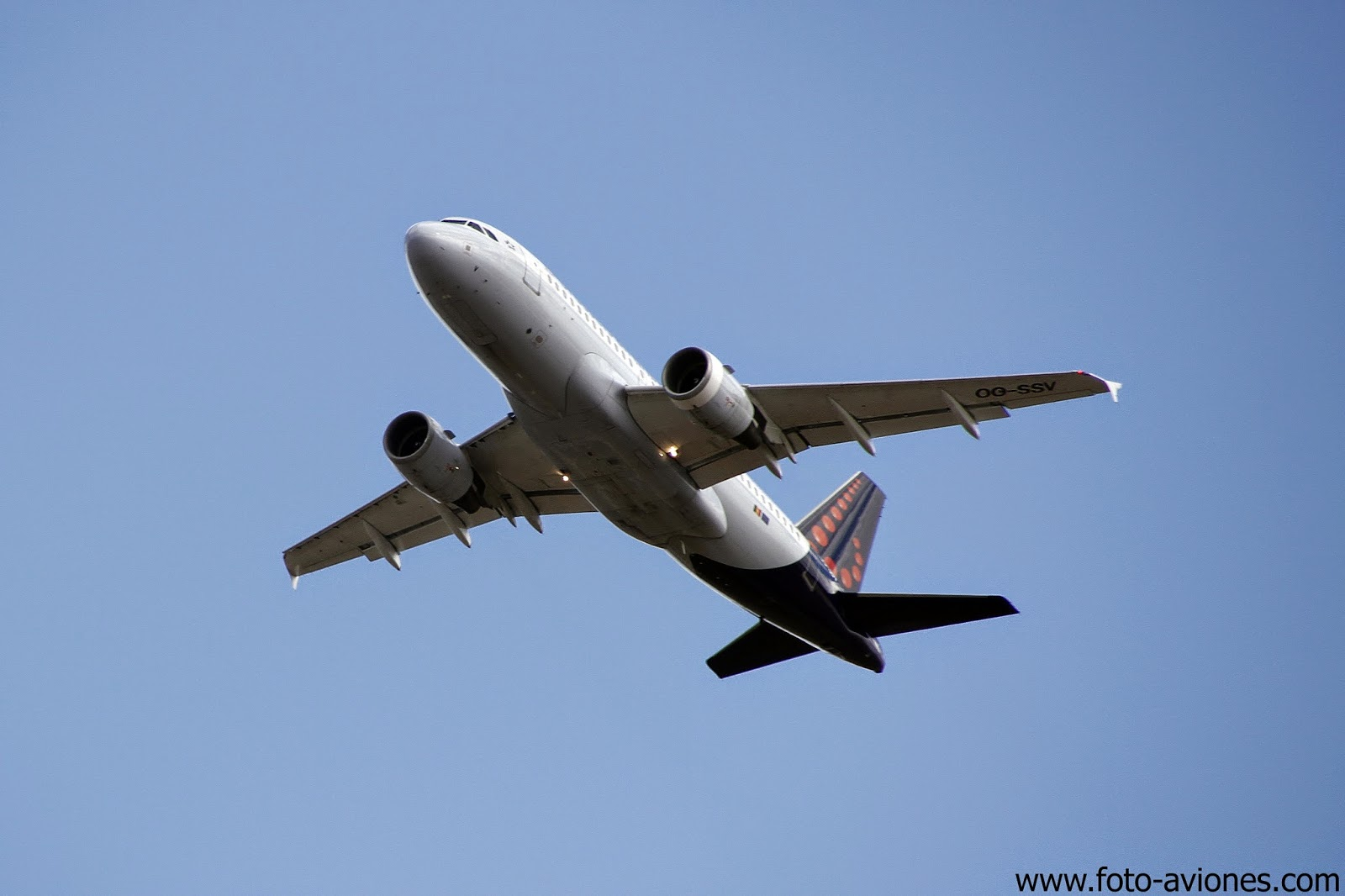 Airbus A319 / OO-SSV