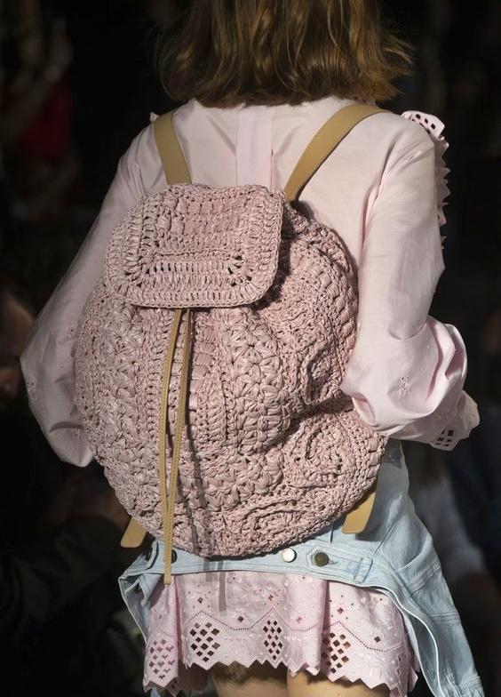 szydełkowe plecaki tutorial