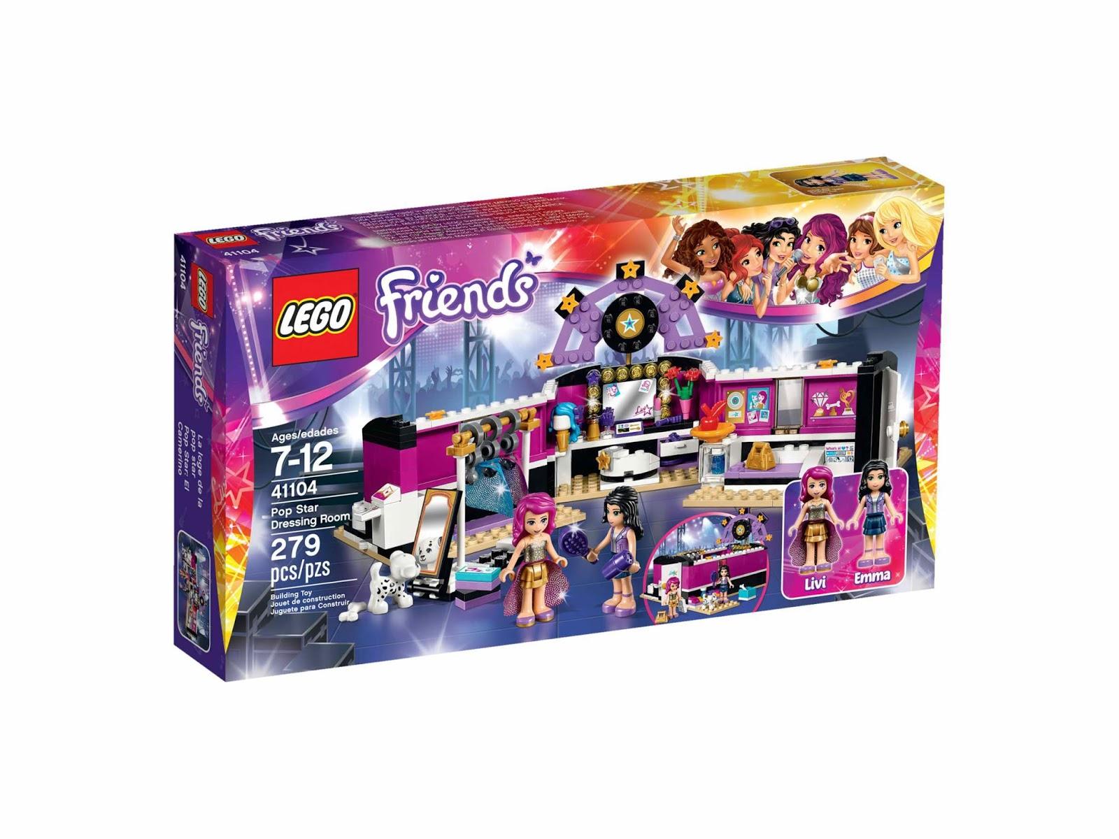 Brick Friends: LEGO 41104 Pop Star Dressing Room