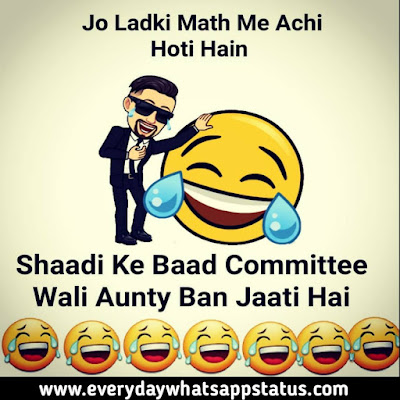 """Whatsapp Status Jokes 