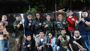Sejumlah Wartawan Dari Berbagai Media Adakan Silaturahmi Dengan Kolonel Arh G.T.H Hasto Respatyo