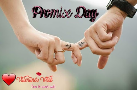 Know ahead when Promise Day 2020? Importance of Promise Day in Valentine's Week