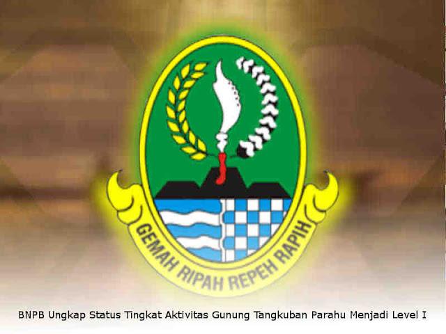 BNPB Ungkap Status Tingkat Aktivitas Gunung Tangkuban Parahu Menjadi Level I
