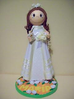 6278f7d53ed La decoración del vestido también se puede hacer a base de lazos y combinar  colores como en este ejemplo del mismo blog y los detalles los tenéis en  este ...