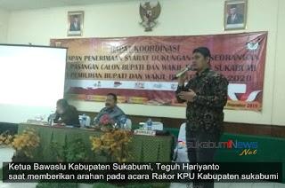 Ketua Bawalsu Kabupaten Sukabumi, Teguh Hariyanto