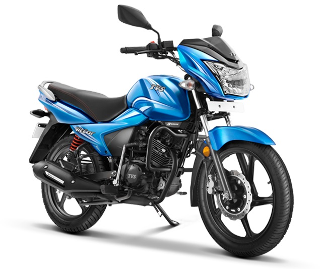 2016-TVS-Victor-Blue-Side-India-Launch