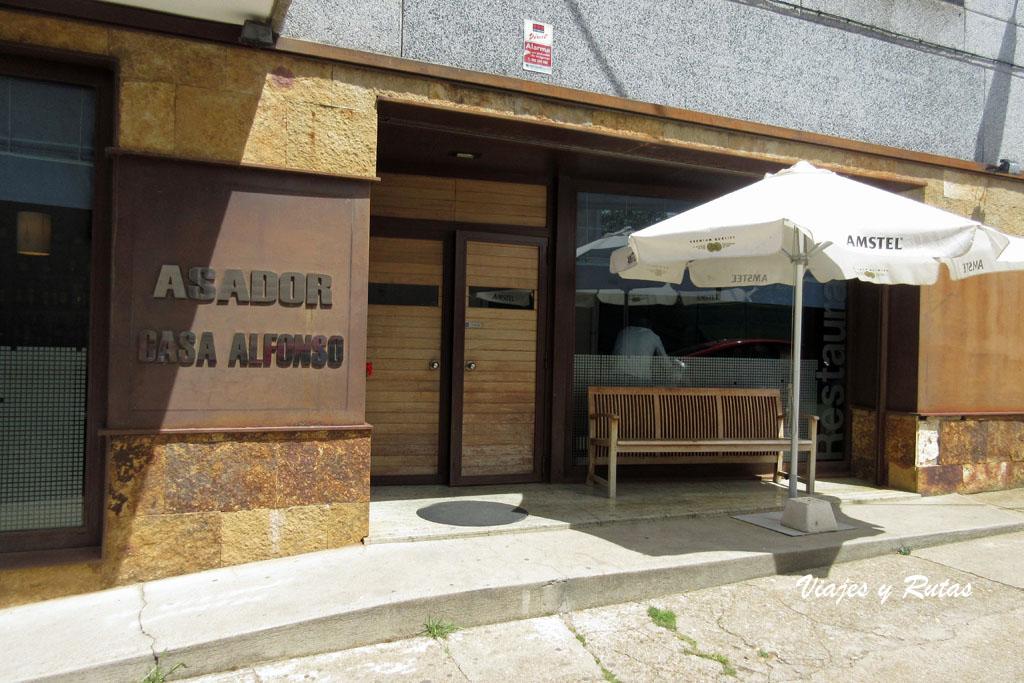 Restaurante Casa Alfonso de San Vitero
