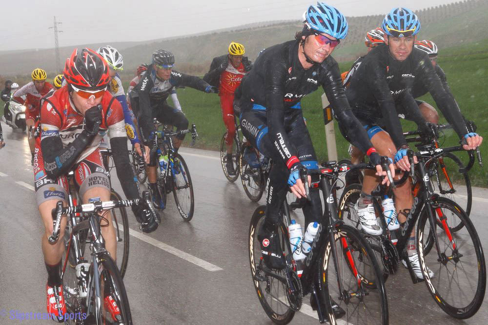 Team Garmin Sharp races year throughout the spring classics in their Gabba  jerseys. c82cebc0e