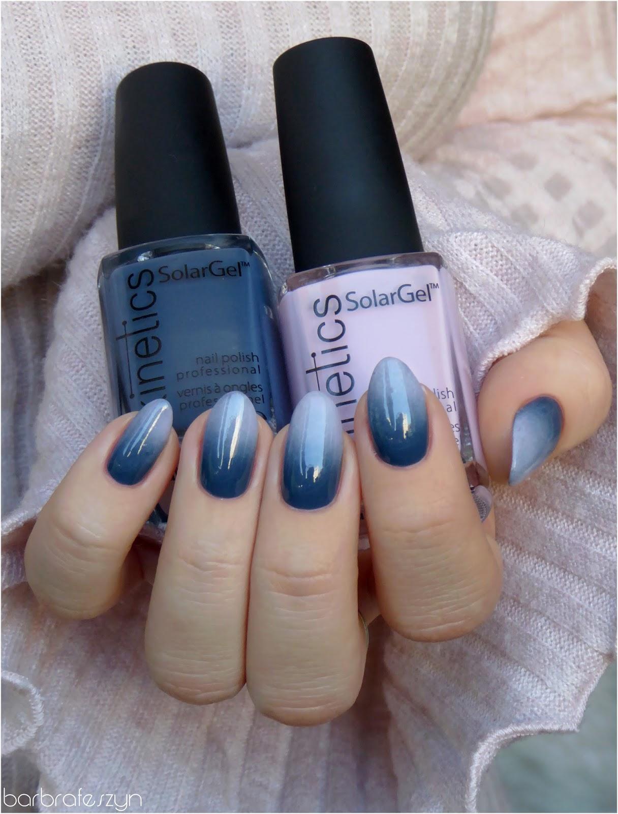 Pink Amp Navy Blue Gradient Nails Redditlaqueristas