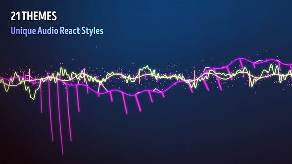 Videohive - Audio Visualizer Music React - 13321449