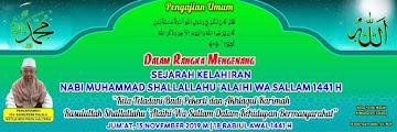 Hadirilah Peringatan Maulid Nabi Muhammad SAW 1441H di Masjid Al Muharram Ladang Tarakan 20191115