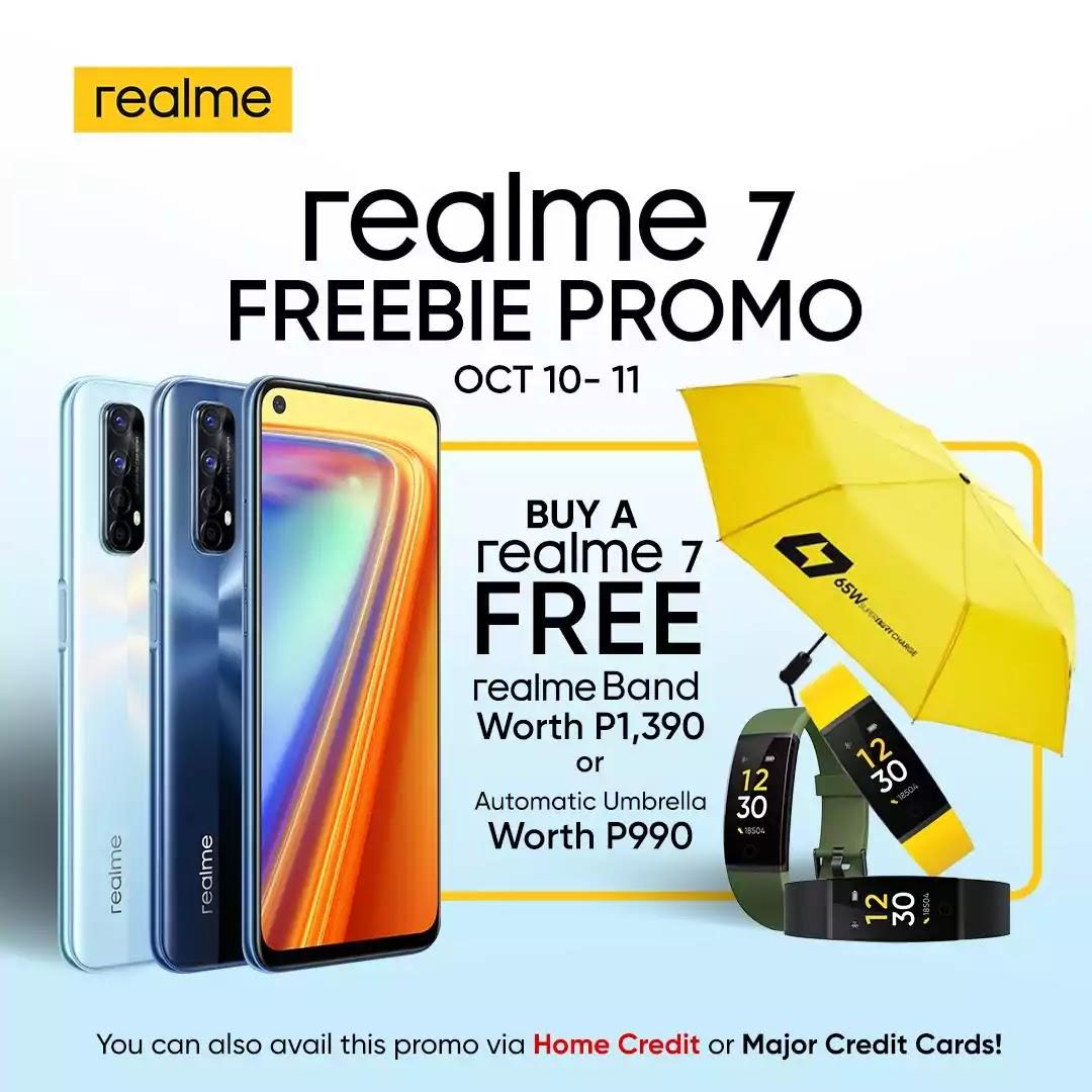 realme 7 Freebie Promo