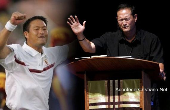 Entrenador deja deporte para ser pastor