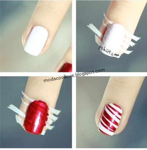 Cute Easy Christmas Nail Designs: Every Girl's Love: Cute Christmas Nails