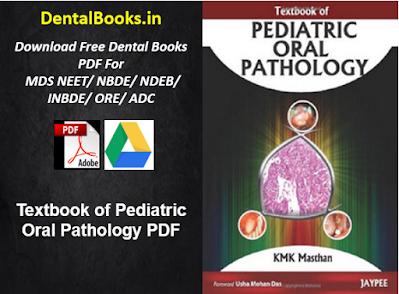 Textbook of Pediatric Oral Pathology PDF