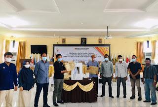KPU Luwu Utara Membuka Kotak Suara Tersegel Pasca Penetapan Calon Bupati Dan Wakil Bupati