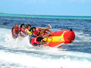 Special Request Banana Boat Wet Kss Bali Tour