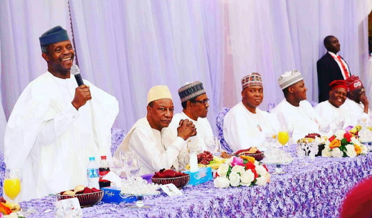 buhari daughter wedding reception