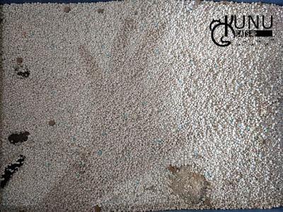 Penggunaan Pasir Gumpal Papin Hari Kelima