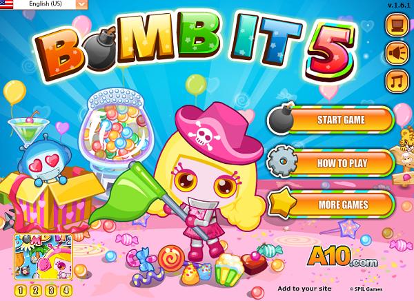 Trò chơi Game Đặt Boom It 5 online - chơi nhanh cực vui và hấp dẫn a