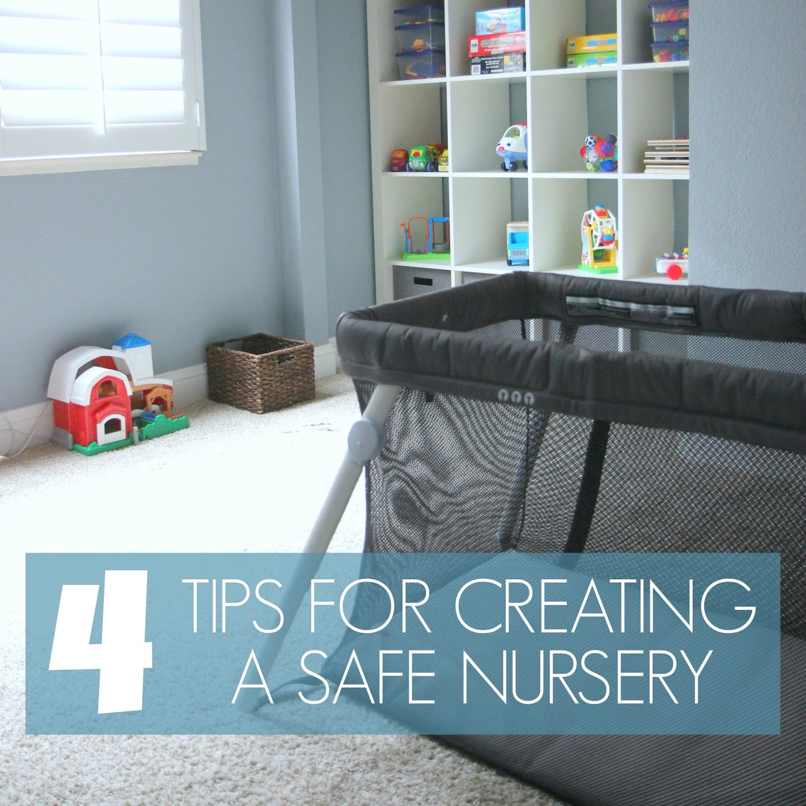 Top tips for making a baby s nursery special - Today I Want To Share A Little Peek Into Our Simple Playroom Nursery And Tell You A Little Bit About Some Simple Safety Tips We Kept In Mind As We Created