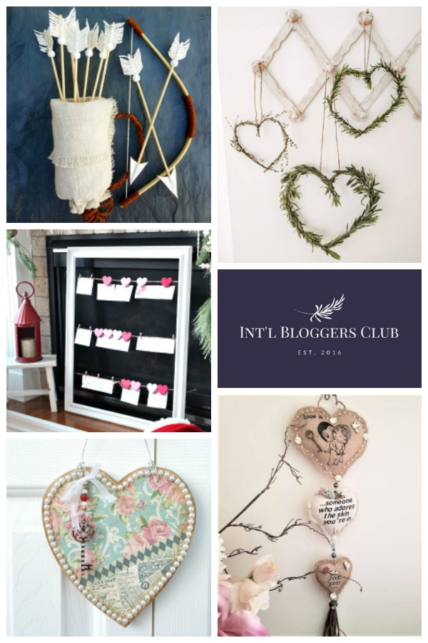 International Bloggers Club Vintage Valentine Challenge