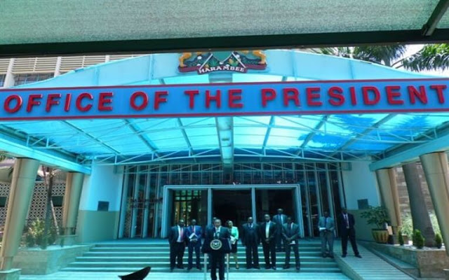 Office of the President Harambee house photos