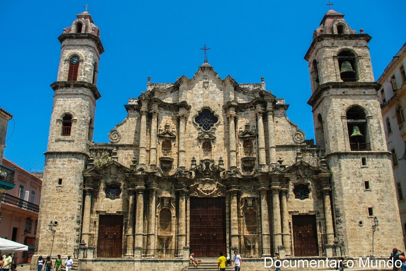 Catedral de San Cristóbal de la Habana; Plaza de la Catedral; Habana Vieja; Havana Velha; Cuba