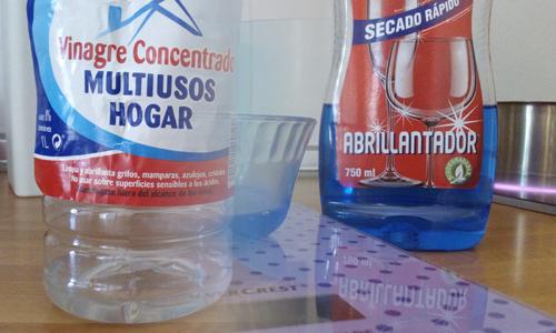 Productos para el lavavajillas casero
