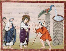 Évangile de Jésus-Christ selon saint Marc (10, 46b-52)