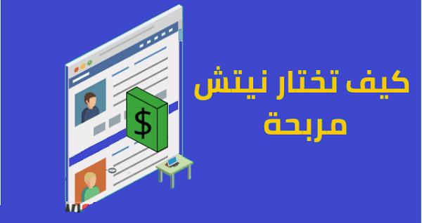 كيف اختيار النيش الرابحة للبدء في مجال التدوين بنجاح وربح أموال 2019