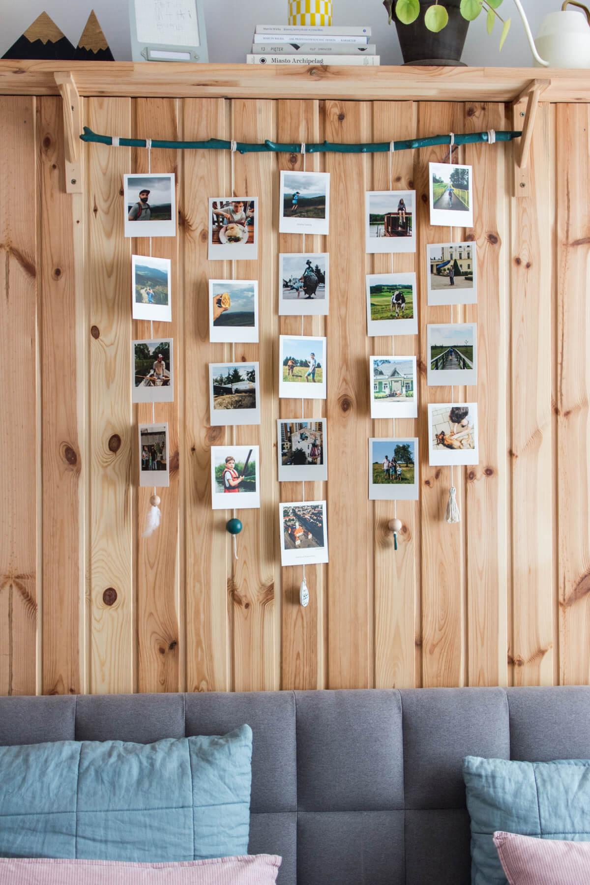 Zdjęcia z wakacji we wnętrzu