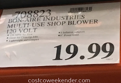 Deal for the Bon-Aire Industries Multi-Use Shop Blower at Costco