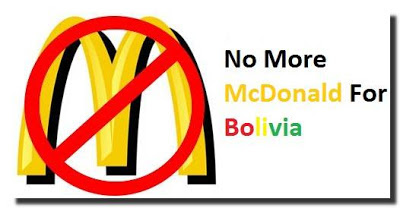 Lack of marketing research: Mcdonald closed all their restaurants in bolivia