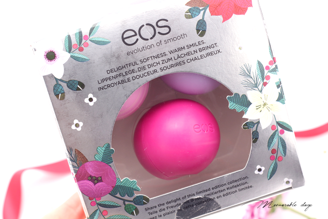Eos Lip Balm Holiday 2016 Limited Edition Memorable Days