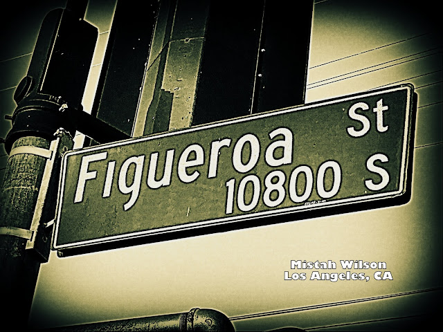 Figueroa Street, Los Angeles, California by Mistah Wilson