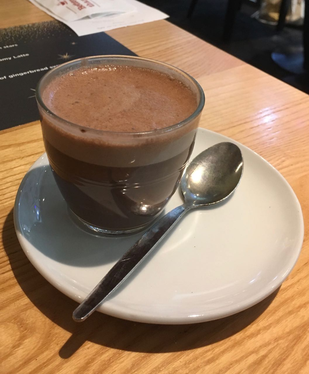 Foodstuff Finds Lindt Hot Chocolate Costa Christmas Menu