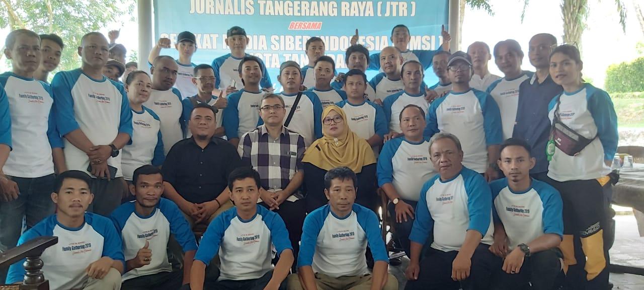 Ketua PWI Banten Hadiri Gathering Jurnalis Tangerang Raya