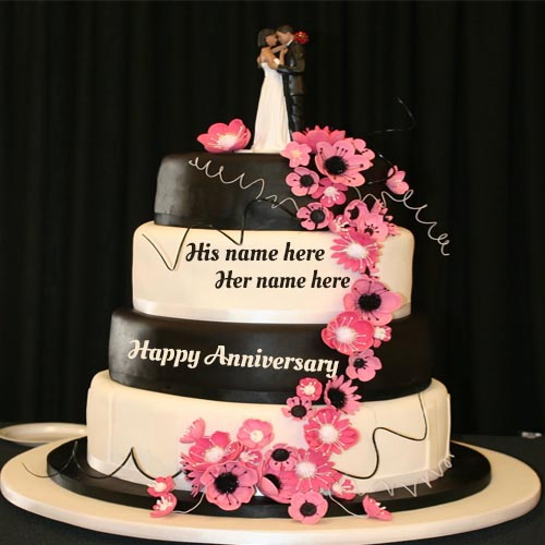 Anniversary Wishes For Husband Wife Anniversary Greeting Card With