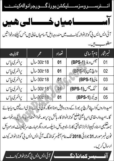ISSB Inter Services Selection Board Gujranwala Cantt