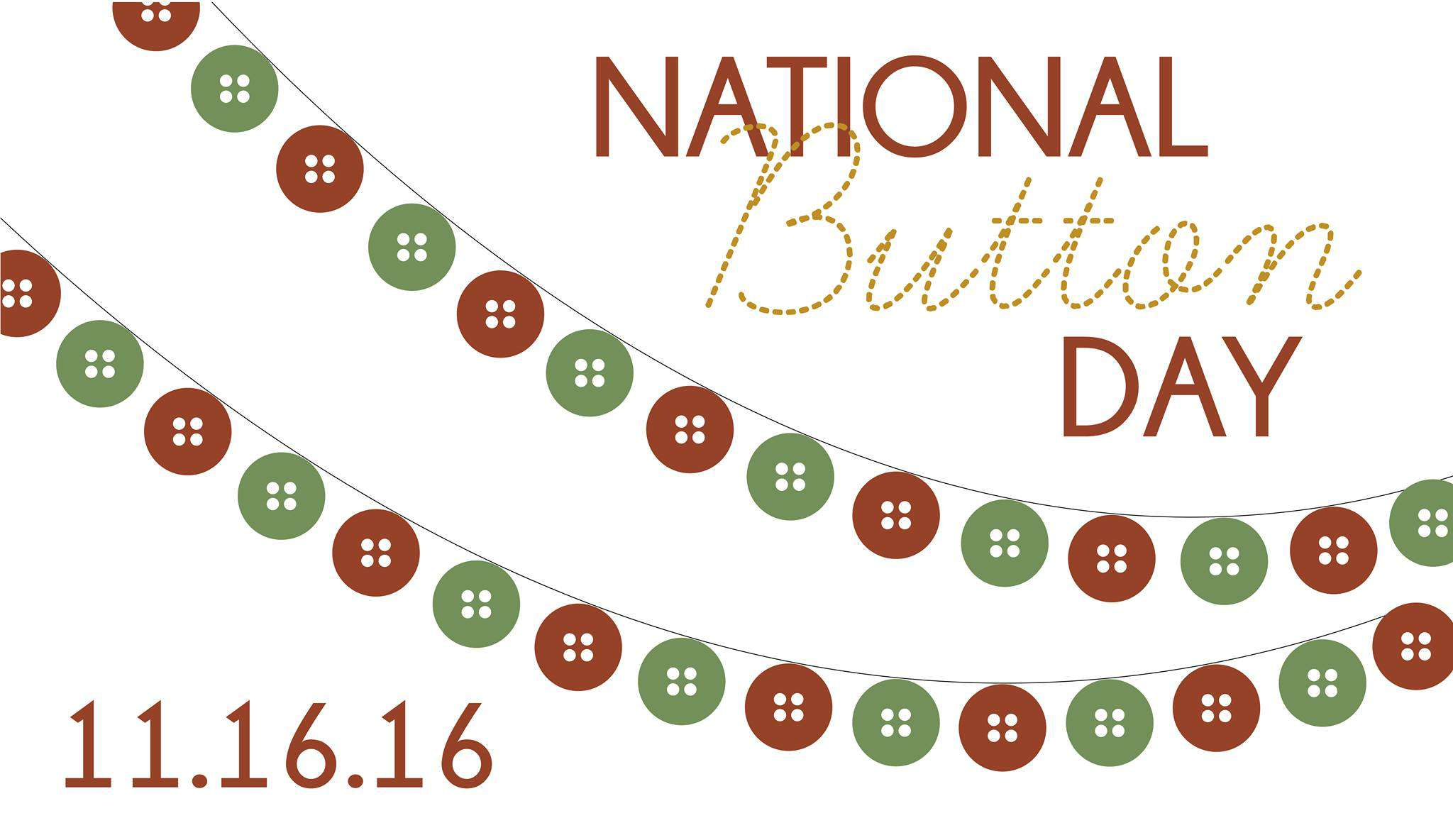 National Button Day Wishes Images download