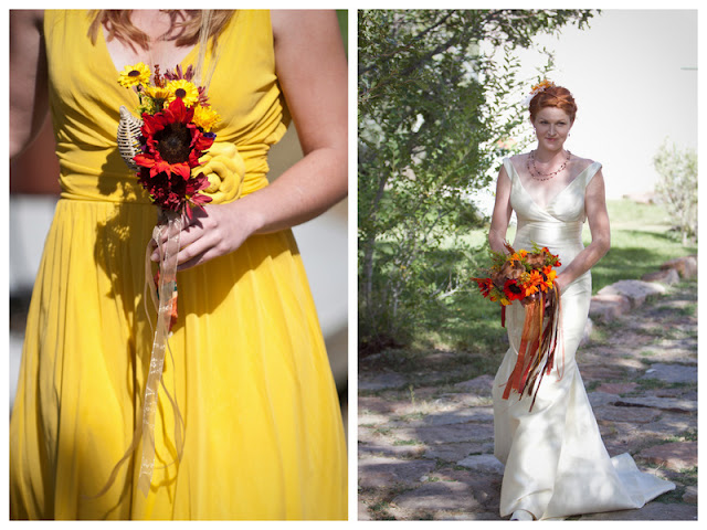 fall rustic ranch wedding | https://www.oh-lovely-day.com/2011/11/real-wedding-cassie-cary-rustic-autumn.html