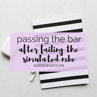 How to pass the Bar exam, how to improve MBE scores, what to do after a bad simulated MBE, how to fix a low score on a practice MBE, Bar passage tips that work, Bar tips for law students, how to increase MBE scores, MBE practice tests, MBE flashcards, last minute bar exam tips | brazenandbrunette.com