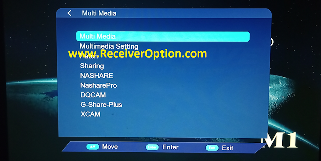 STAR LIVE M1 1506TV 512 4M NEW SOFTWARE WITH G SHARE PLUS & XCAM OPTION