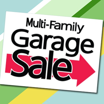 Multi-Family Garage Sale sign