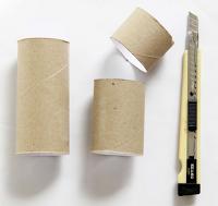 Kağıttan Kalem Kutu Yapımı
